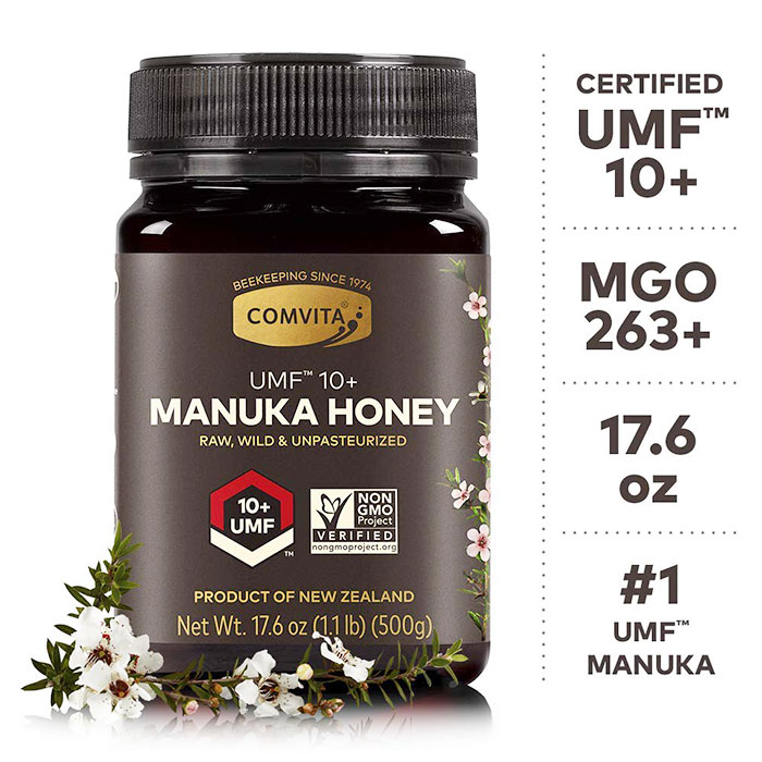 Comvita UMF 10+ Manuka Honey (17.6 oz) 500g