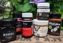 Jars of manuka honey