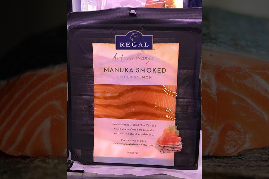 Regal Manuka-smoked salmon
