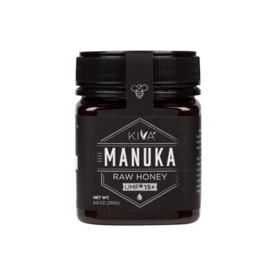 Kiva Certified UMF 15+ Raw Manuka Honey (8.8 oz) 250g
