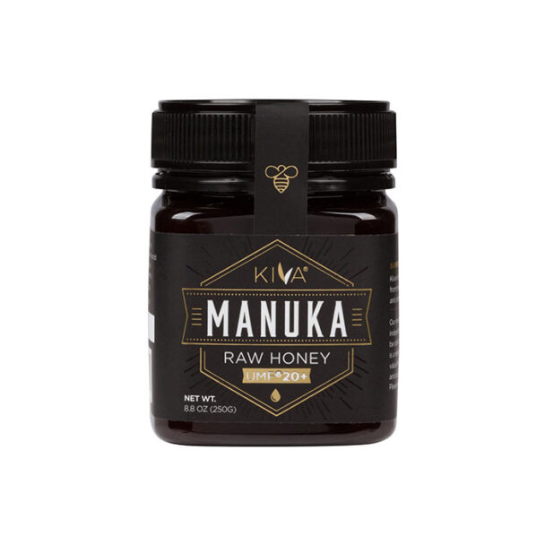 Kiva Certified UMF 20+ - Raw Manuka Honey (8.8 oz) 250g