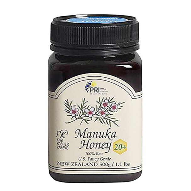 Kiwi Kosher Pareve certified raw manuka honey from New Zealand