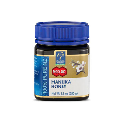 Manuka Health – MGO 400+ Manuka Honey, 100% Pure New Zealand Honey