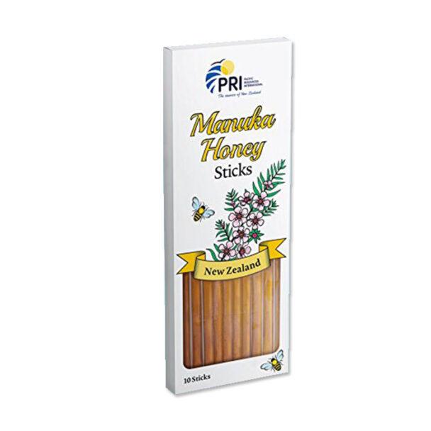 Pacific Resources Manuka Honey Sticks (10 ct)