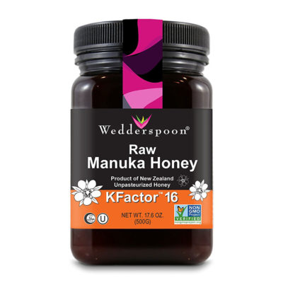 Wedderspoon Raw Premium Manuka Honey KFactor 16+