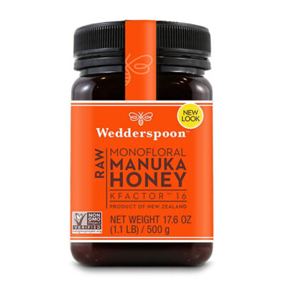 New look - Wedderspoon Raw Manuka Honey KFactor 16+ (17.6 oz) 500g
